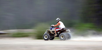 Image of a atv.
